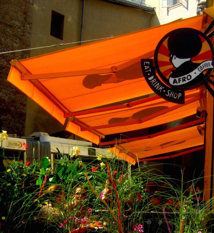 Afro cafe in Salzburg