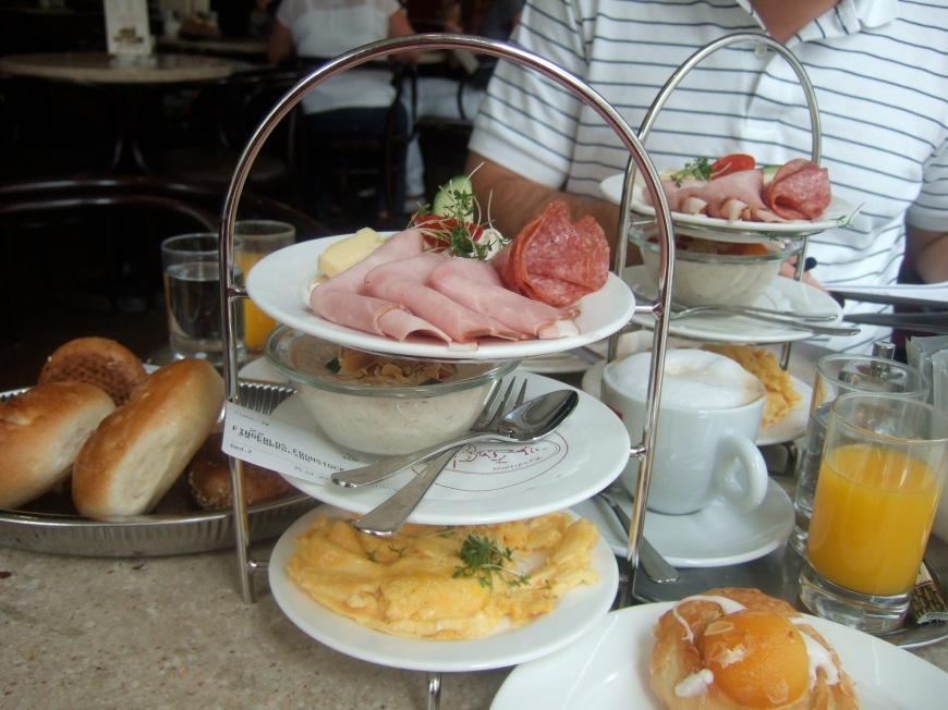 Breakfast in Salzburg at Cafe Fingerlos
