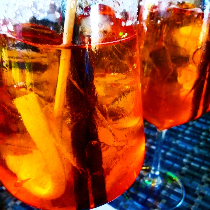 Aperol Spritz in Levanto