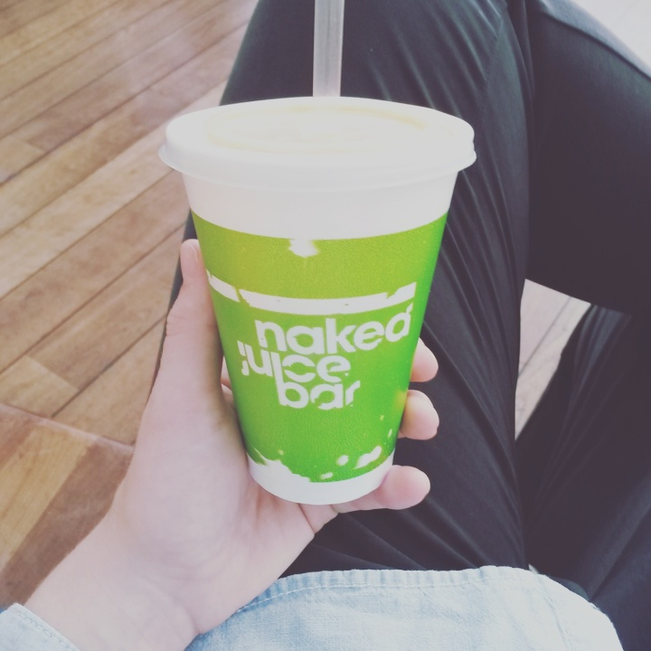 Juice from Naked Juice Bar in Stockholm