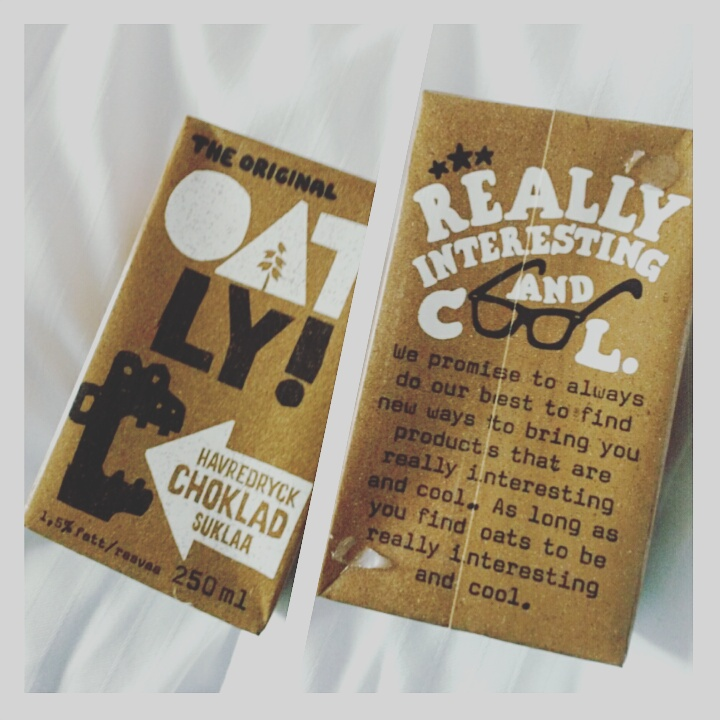 Oatley chocolate milk from a supermarket in Stockholm