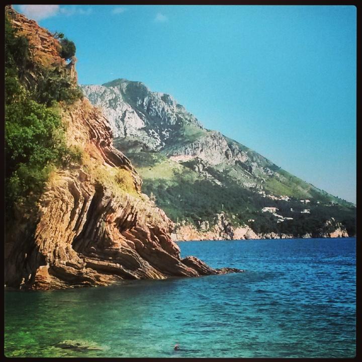 Przno beach in Montenegro