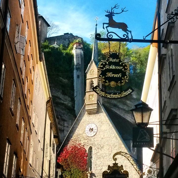 Getriedegasse in Salzburg