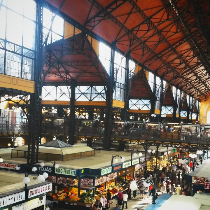 Inside Budapest's Great Market Hall