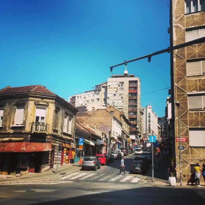 Grittier side of Belgrade's streets