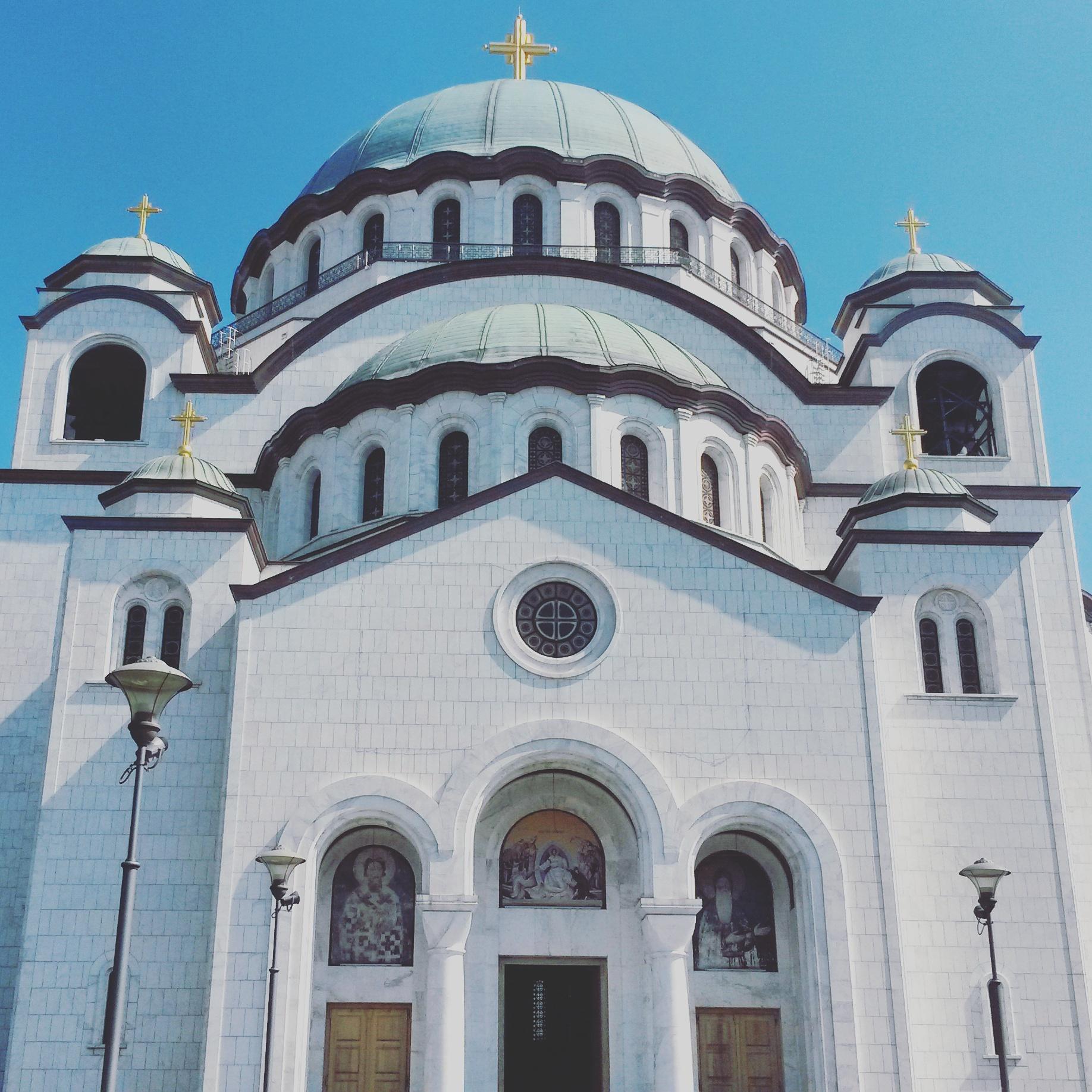 Saint Sava Church in Belgrade