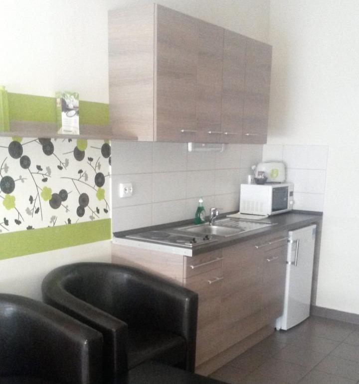 K9 Residence apartment kitchenette