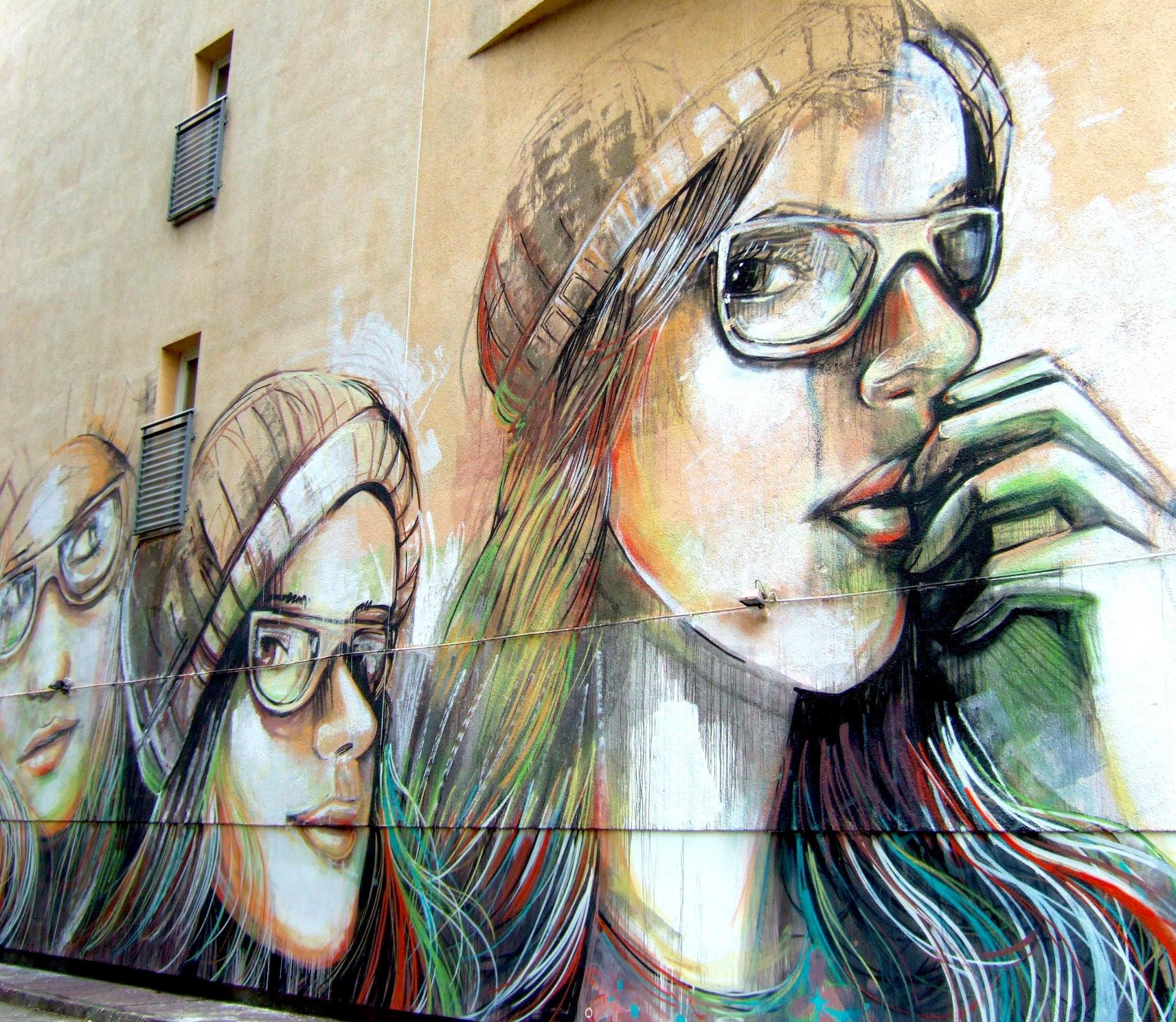 Street art on the Alternative Berlin tour