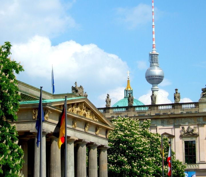 Some of the sights on the Original Berlin Walks tour, including the Fernsehturm