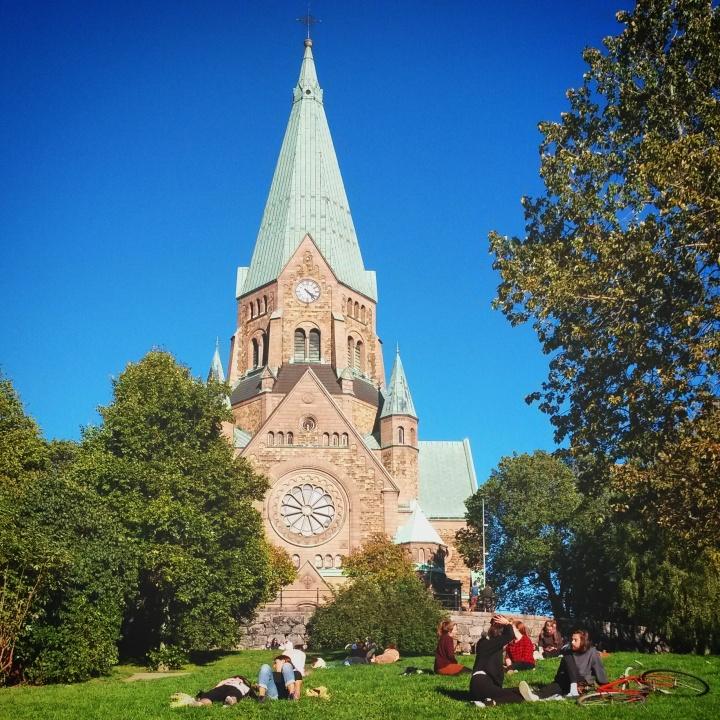 Sofia Kyrka church in Södermalm, Stockholm