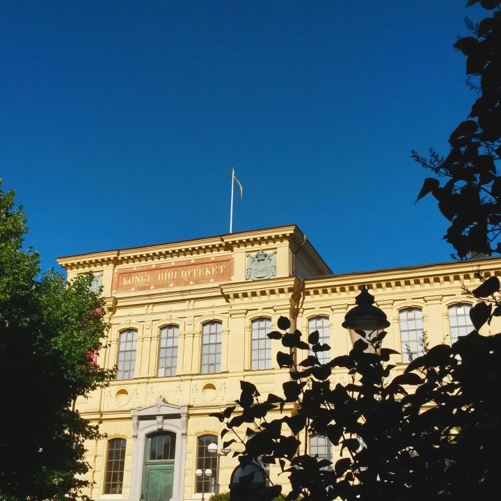The exterior of the National Library of Sweden in Stockholm