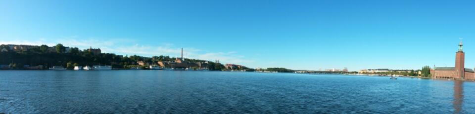 Riddarfjärden bay in Stockhom