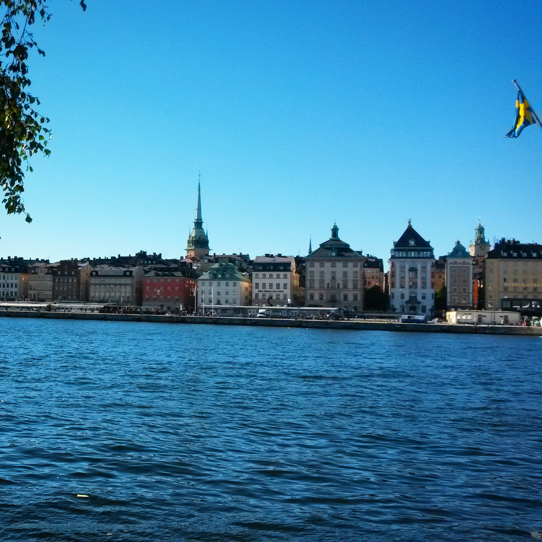 View from Skeppsholmen island