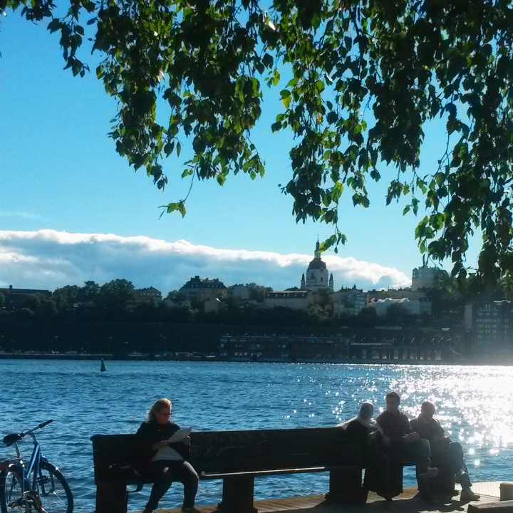 The view from Skeppsholmen island in Stockholm
