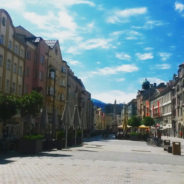 Maria-Theresien-Straße in Innsbruck