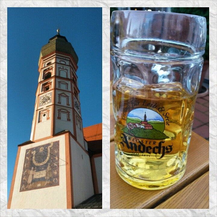 Beer at Andechs Abbey, Ammersee