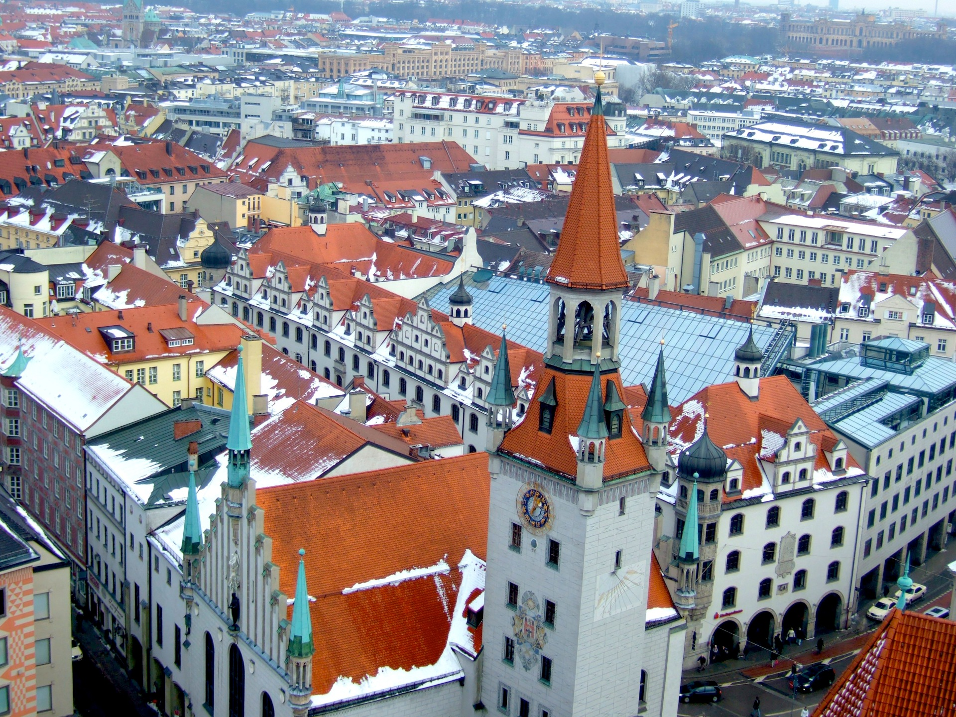 View from St Peter's Church in Munich