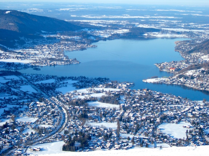 View of Tegernsee from the Wallberg