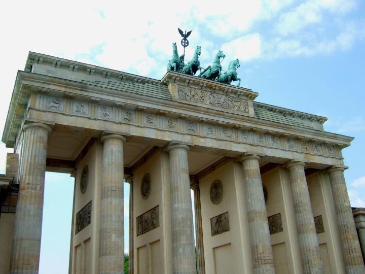 The Brandenburg Gate in Berlin