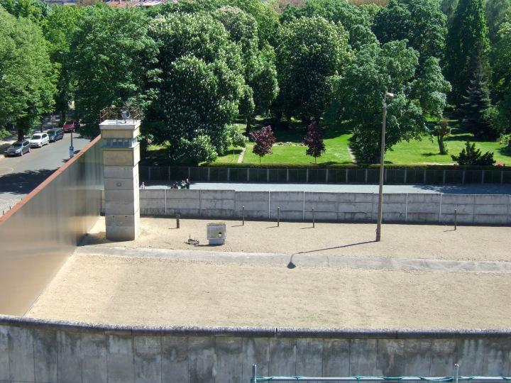 The Berlin Wall at Bernauerstrasse