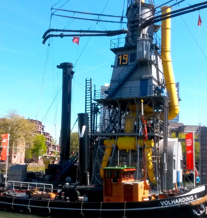 Crane at the Maritime Museum, Rotterdam