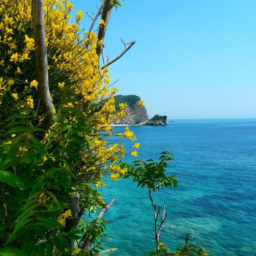Coastline, Budva, Montenegro