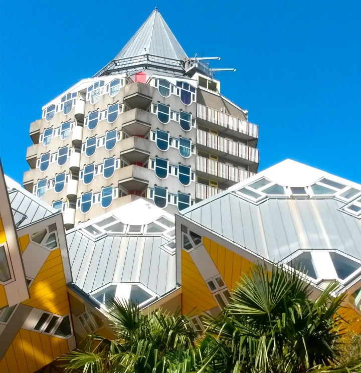 Piet Blom's architecture, Rotterdam