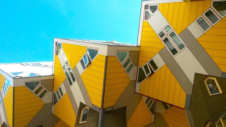 Piet Blom Cube Houses