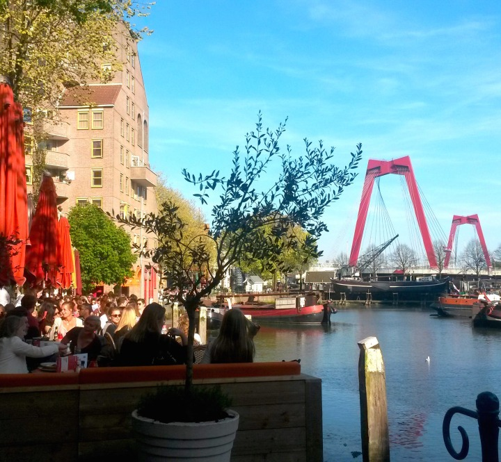 The Old Harbour next to citizenM Rotterdam