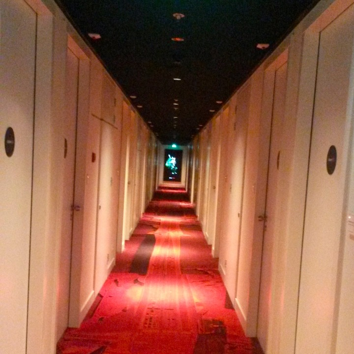 The cool corridors of citizenM Rotterdam