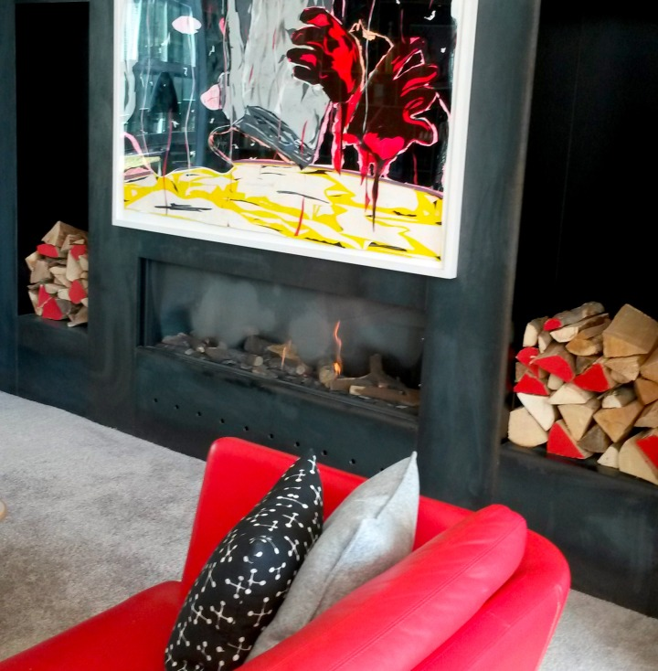 citizenM Rotterdam living room