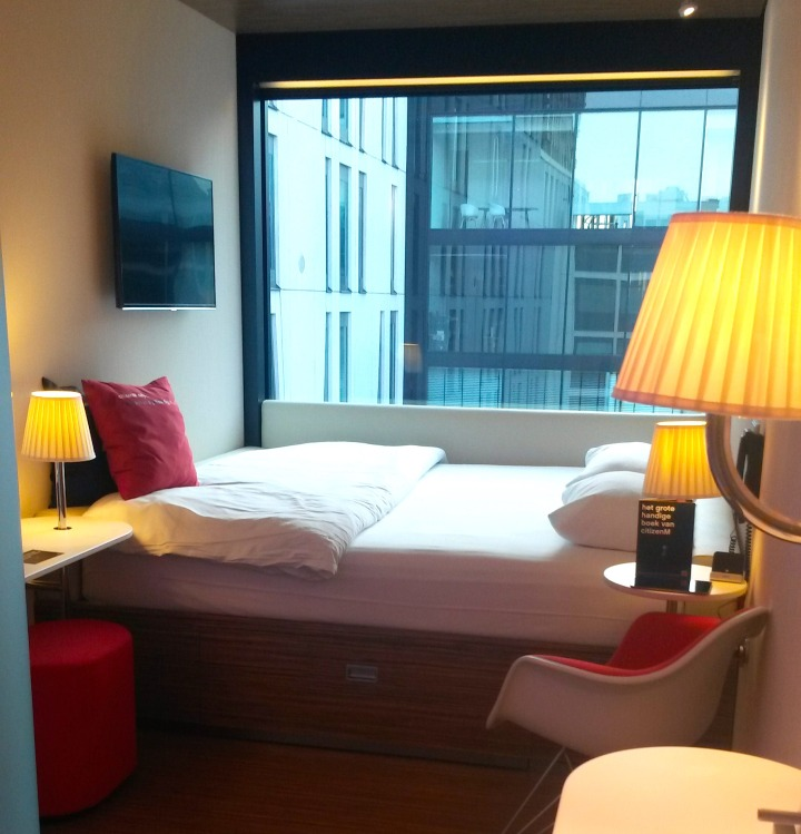 The rooms at citizenM Rotterdam