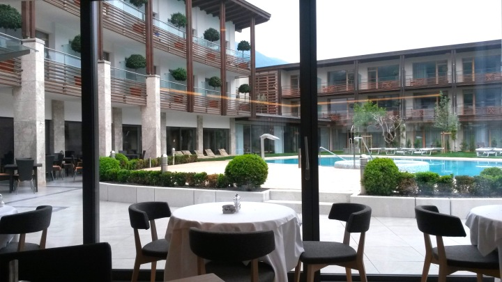 Hotel Schwarzschmied's breakfast room
