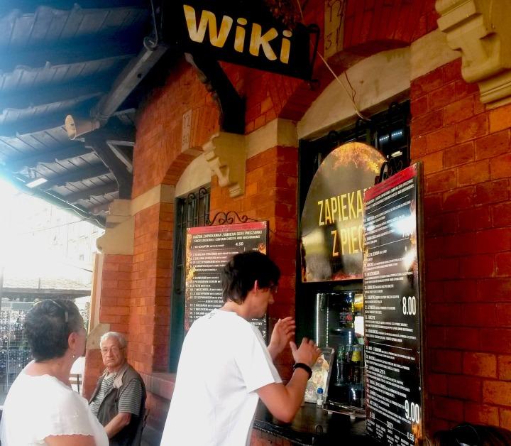 Zapiekanka stall at Plac Nowy
