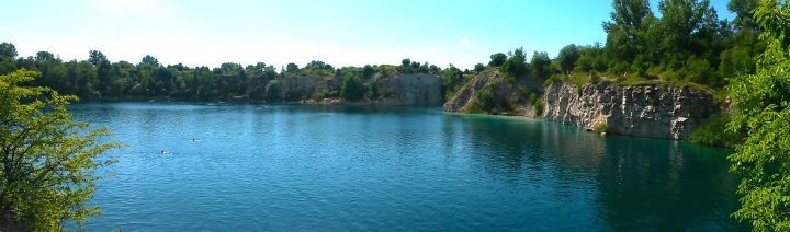 Zakrzowek quarry panorama