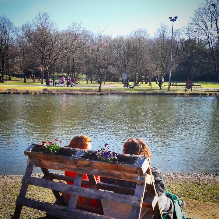 Mollsee, Westpark