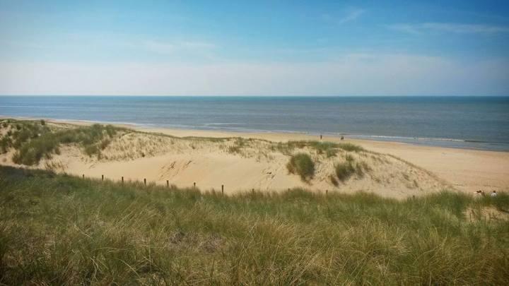The Hague coastline