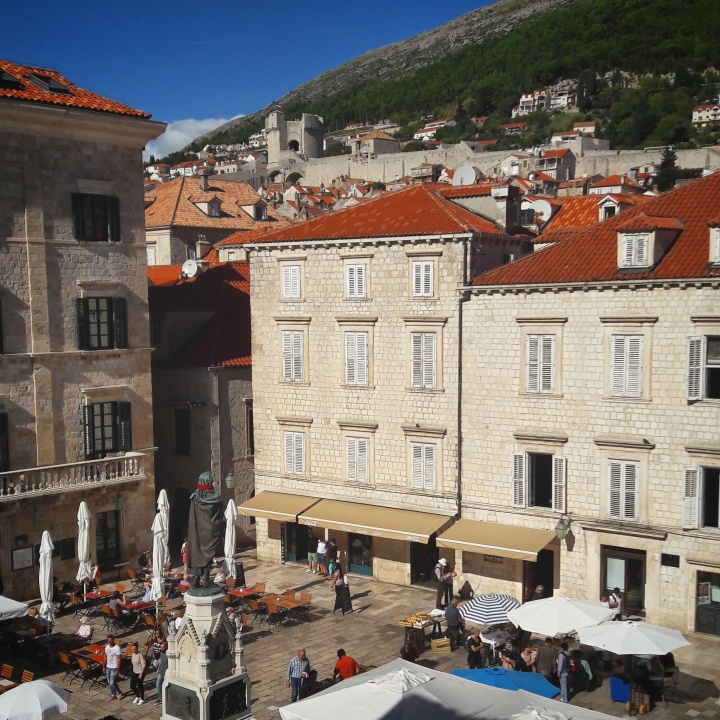 Fresh Sheets Kathedral Dubrovnik view from Dubrava studio