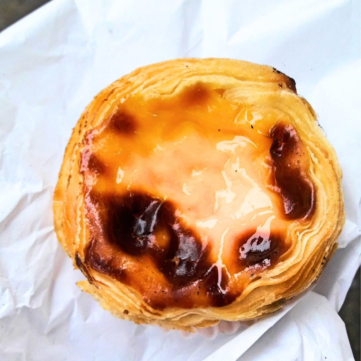 Pastel de Nata from Cafe Cristal