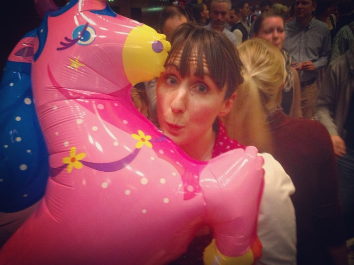 Unicorn balloon at Starkbierfest
