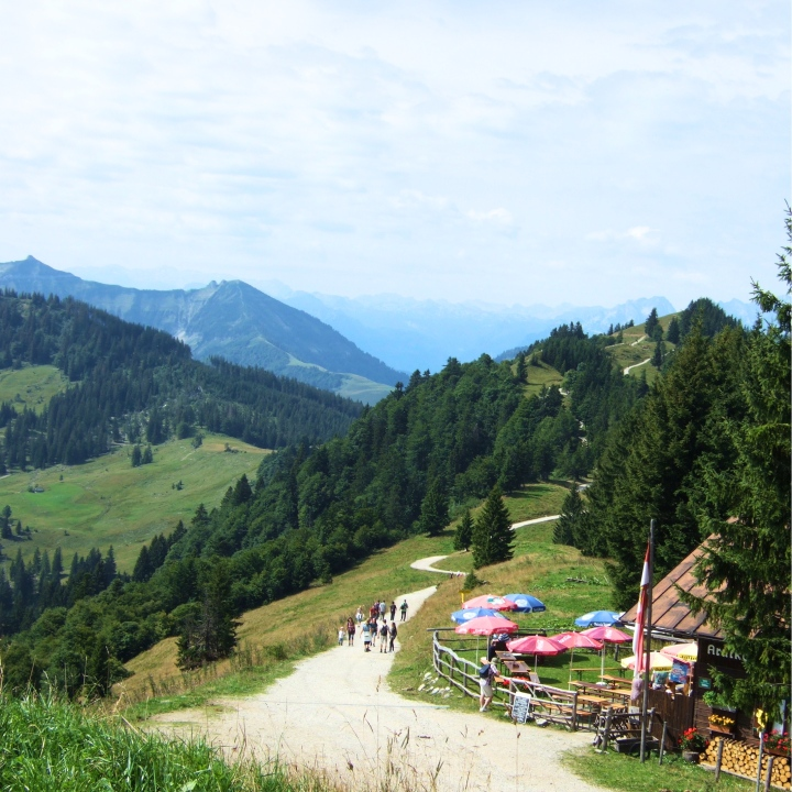 Hiking trails in the Salzkammergut
