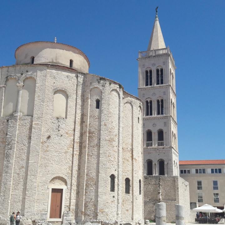 Zadar's impressive architecture