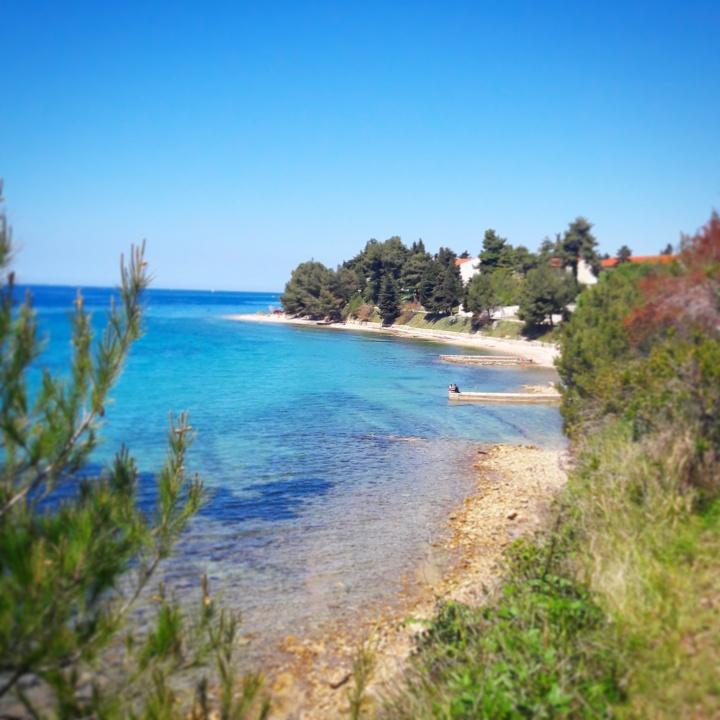 Zadar deserted beaches