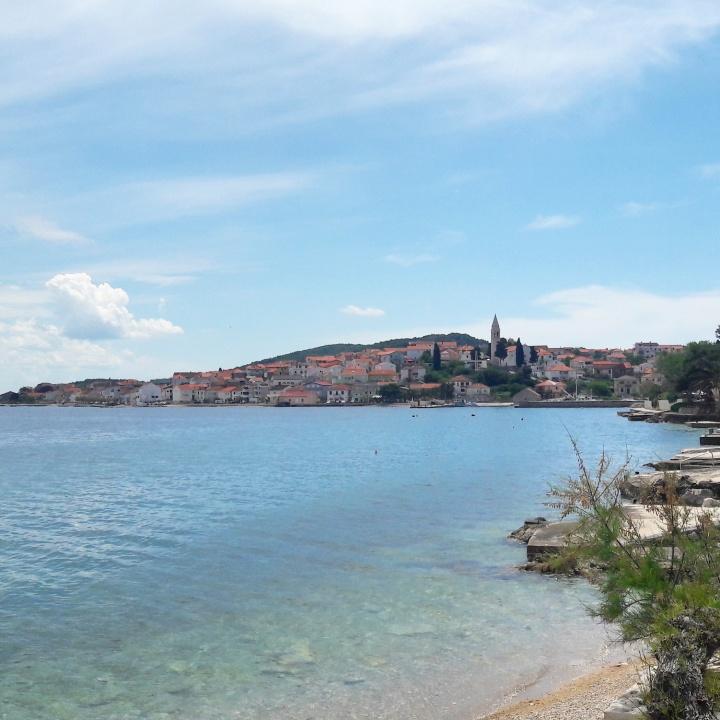 Ugligan island near Zadar